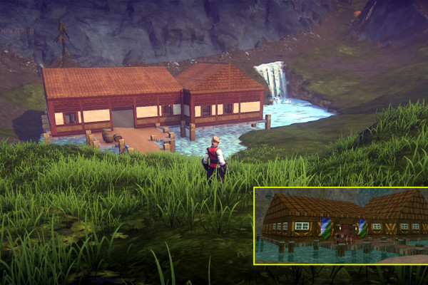Jethal builds Surefall Glade in EverQuest Next Landmark